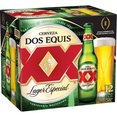 Dos Equis Lager Bottles, 12 pack, 12 fl oz Bottle