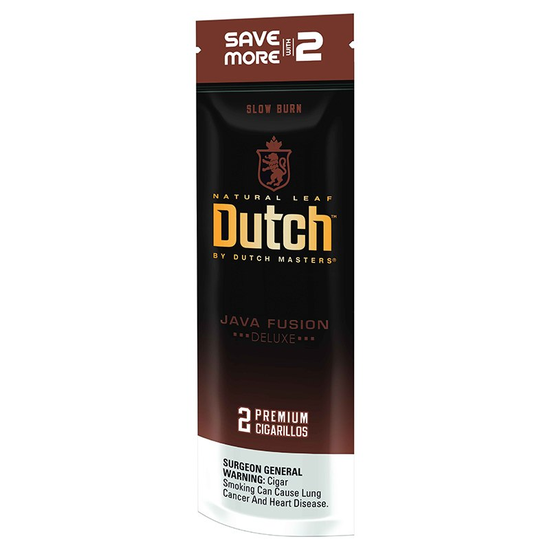Dutch by Dutch Masters Cigarillos, Java Fusion ( Pack of 2)