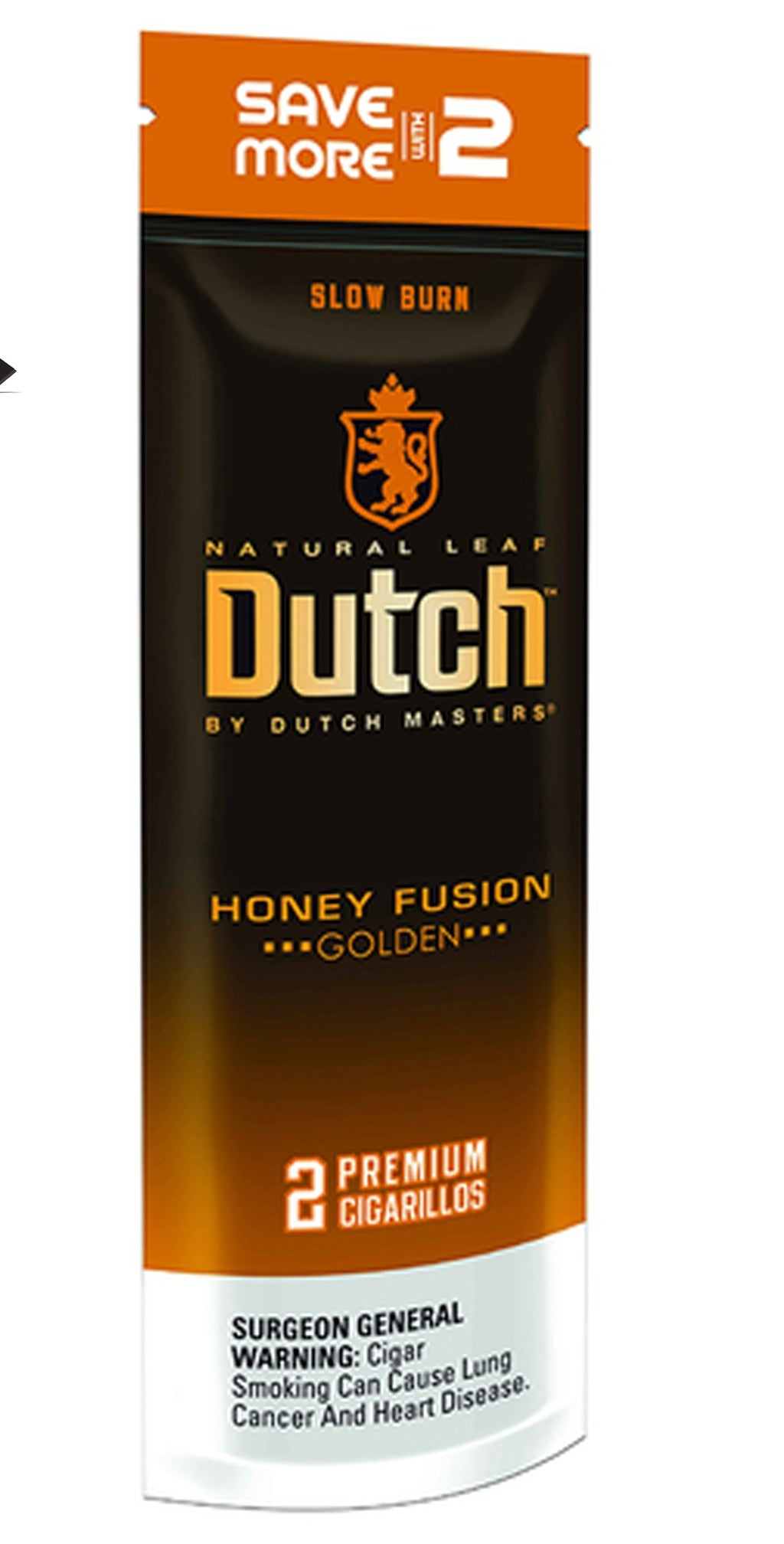 Dutch Masters Cigarillos, Honey Fusion (Pack of 2)