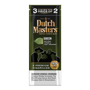 Dutch Masters Cigarillos, Green (Pack of 3)
