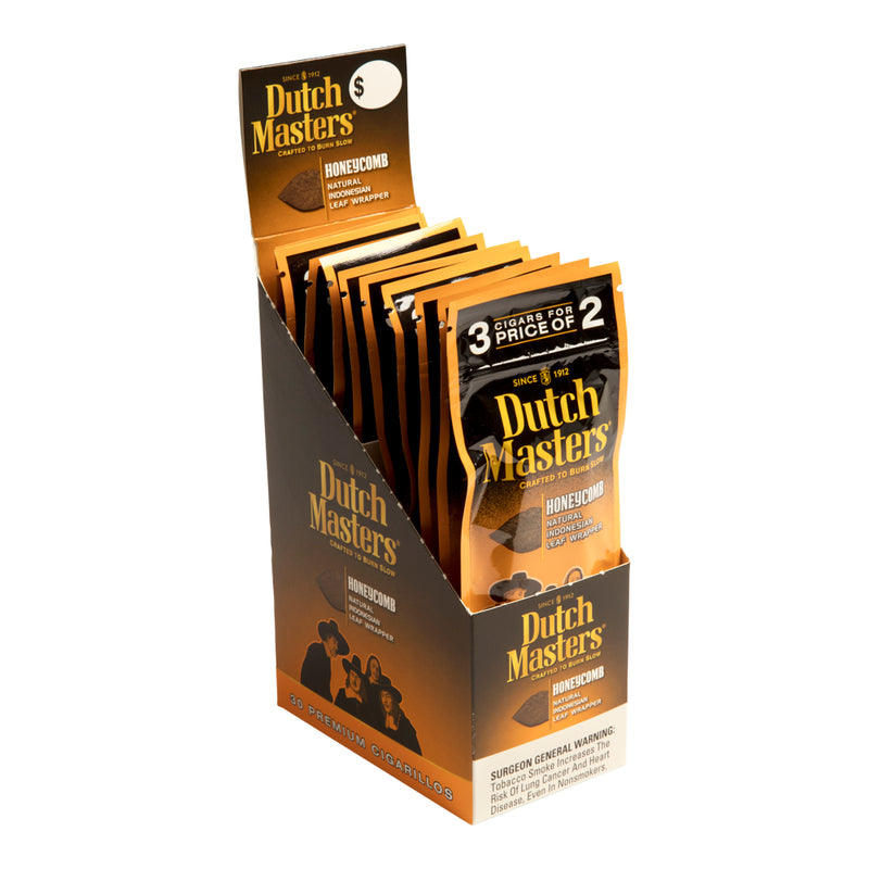 Dutch Masters Cigarillos, Honeycomb (Pack of 3)