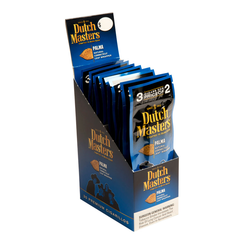 Dutch Masters Cigarillos, Palma (Pack of 3)