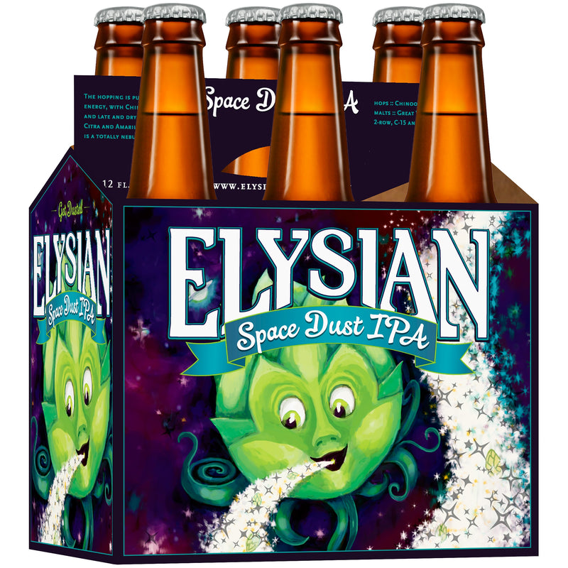 Elysian Space Dust IPA, 6 pack, 12 fl oz Bottle