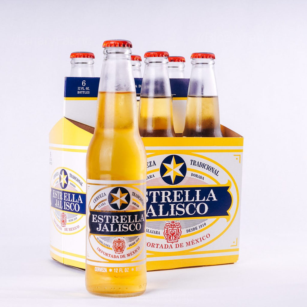 Estrella Jalisco, 6 pack 12oz Bottle