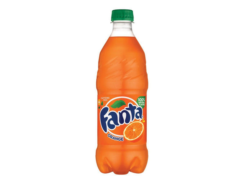 Fanta Orange Soda - 20 fl oz Bottle