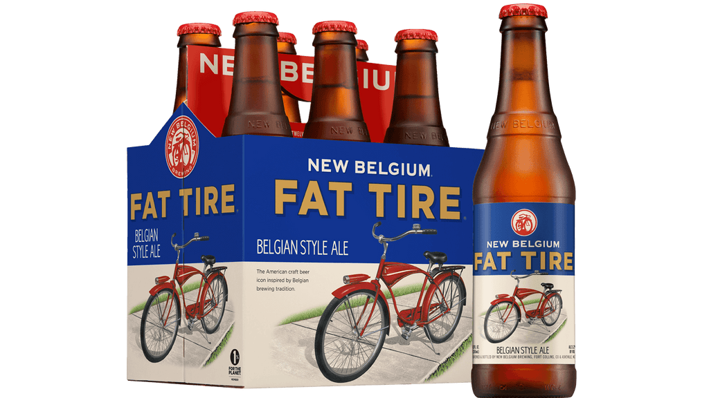 Fat Tire Belgian Style Ale, 6 Pack Bottle