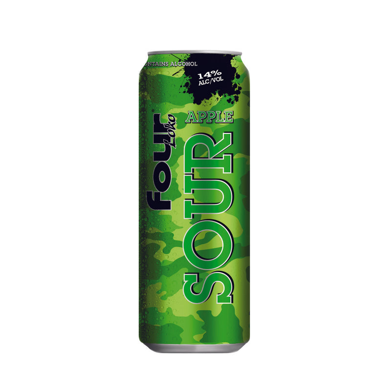 Four Loko Sour Apple, 23.5 fl oz Can
