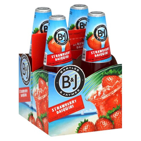 Bartles & Jaymes® Strawberry Daiquiri Malt Cooler- 4pk briansdiscountmarket