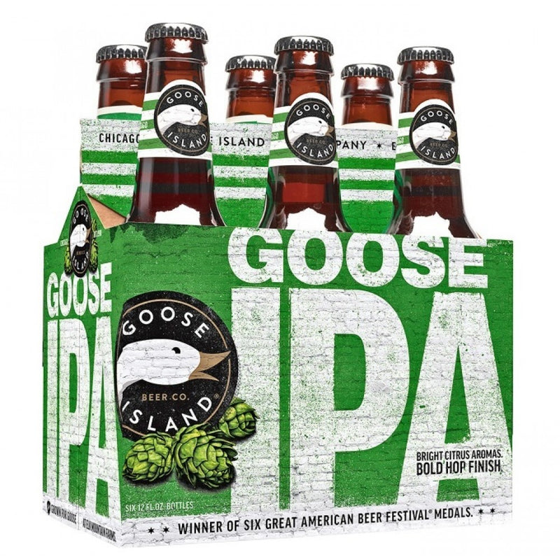 Goose Island Goose IPA, 6 Pack Bottle