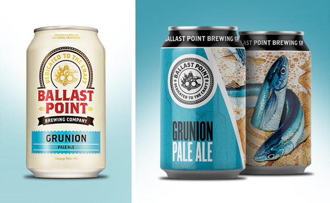 Ballast Point , Grunion Pale Ale, 6 pack Can