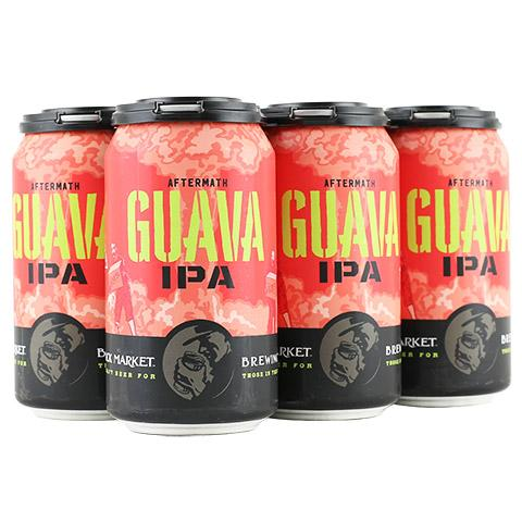 Black Market Brewing Co, Aftermath Guava IPA, 6 Pack Cans