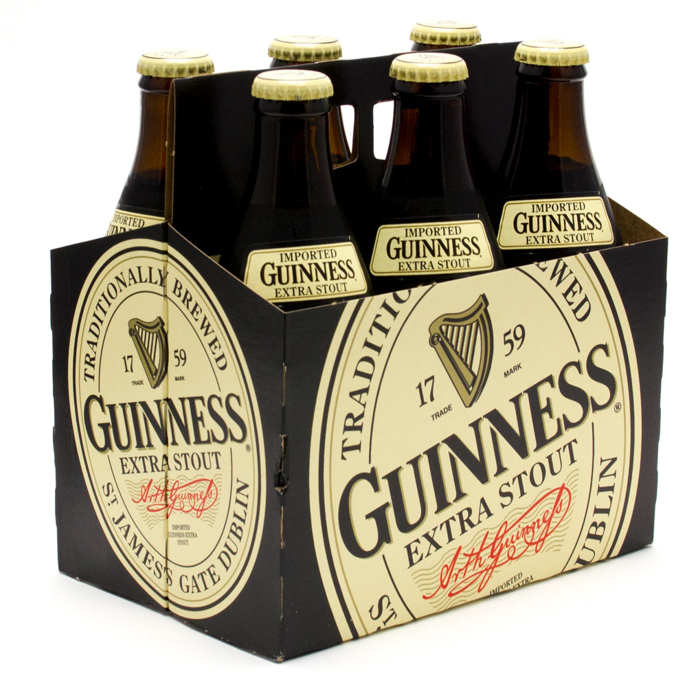 Guinness Extra Stout Imported,  6 Pack, 11.2 oz
