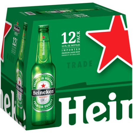 Heineken Lager Beer, 12 pack, 12 fl oz Bottle