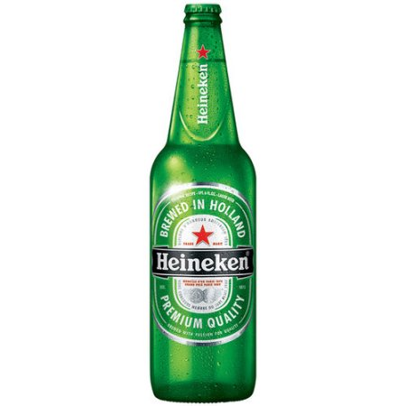 Heineken Lager Beer, 22 fl oz Bottle