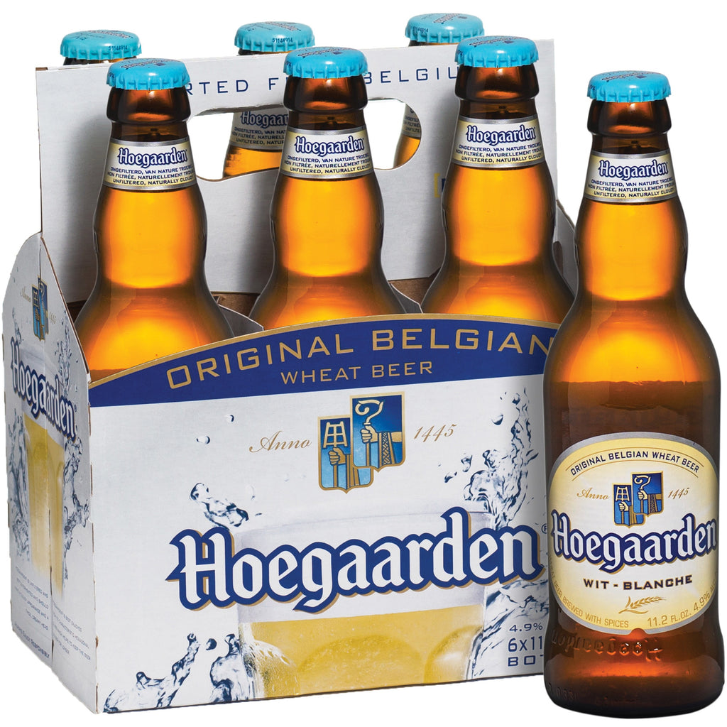 Hoegaarden Original Belgian Wheat Beer, 6 pack, 11.2 fl oz