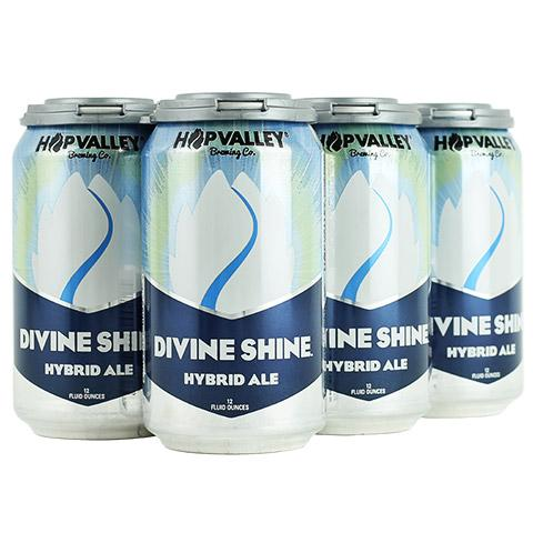 Hop Valley Brewing, Divine Shine, 6 Cans briansdiscountmarket