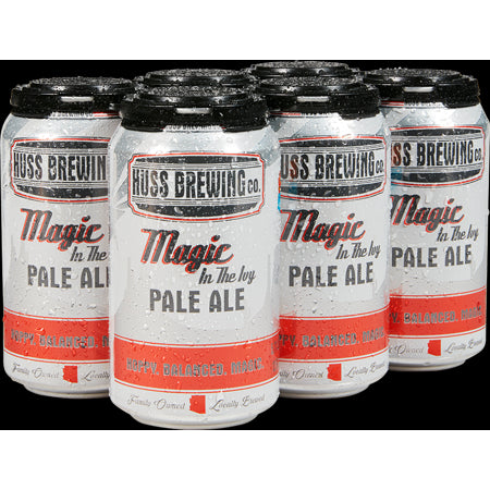 Huss Brewing Co, Magic in the Ivy Pale Ale, 6 pack Cans