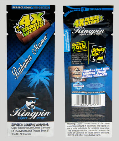 Kingpin Hemp Wraps Bahama Mama