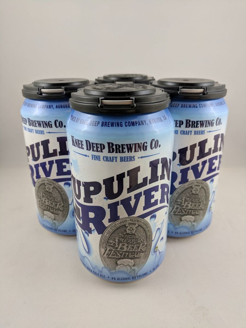 Knee Deep Brewing Co, Lupulin River, 4 Cans briansdiscountmarket