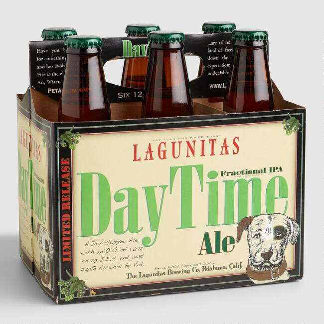 Lagunitas Brewing, DayTime Ale Fractional IPA, 6 Pack Bottle