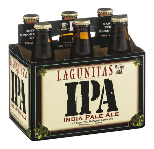 Lagunitas IPA India Pale Ale, 6 Pack, 12 oz Bottle