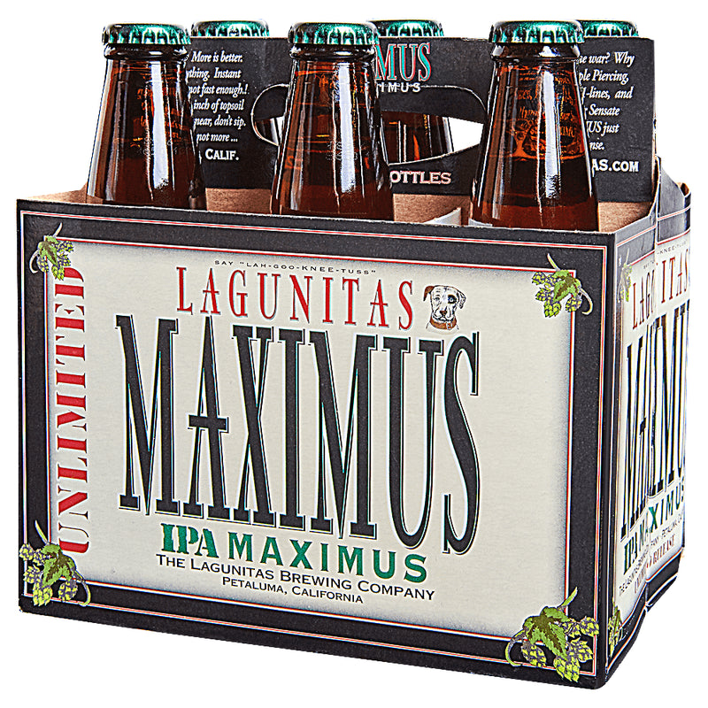 Lagunitas Brewing, Unlimited IPA Maximus, 6 Pack Bottles