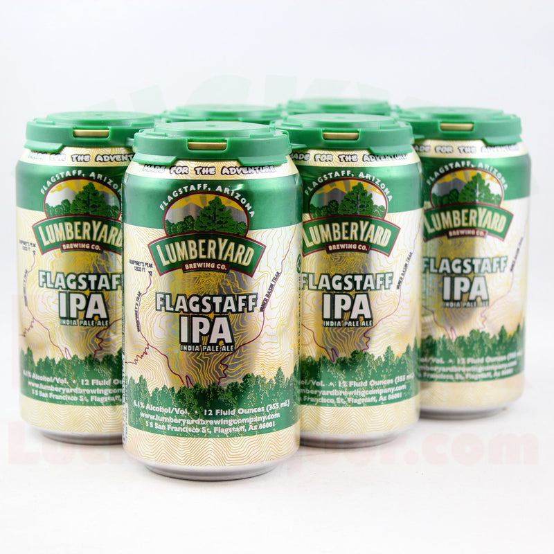 Lumberyard Brewing Co. - Flagstaff IPA, 6 Pack, 12 Oz Can