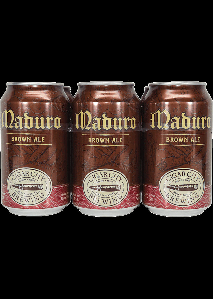 Cigar City Brewing, Maduro Brown Ale, 6 Cans briansdiscoutmarket