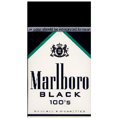 Pack – Marlboro Black Menthol 100's Box