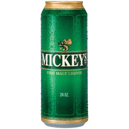 Mickeys Fine Malt Liquor, 24 fl oz Can