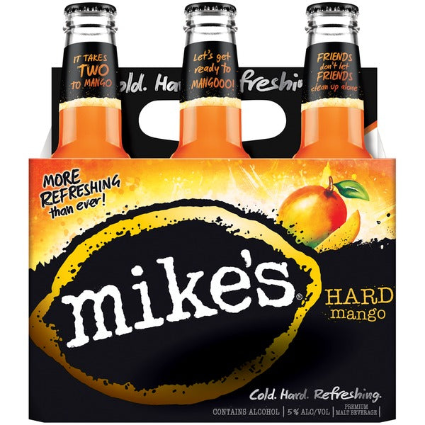 Mike's Hard Mango, Pack of 6 bottles briansdiscountmarket