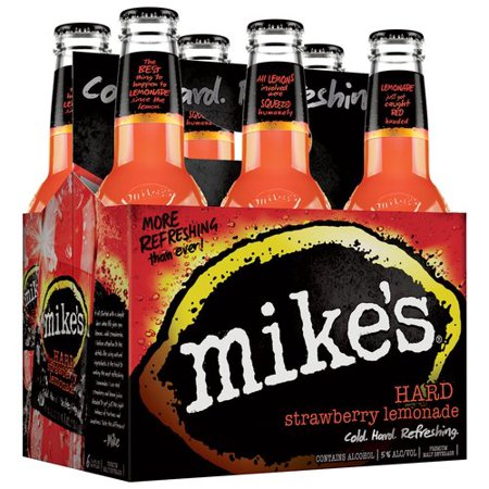 Mike's® Hard Strawberry Lemonade , 6 Pack 12oz Bottle