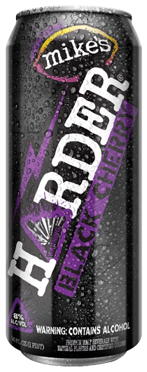 Mike's Harder Black Cherry, 16 oz Can