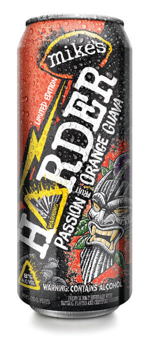 Mike's Harder Passion Fruit Orange Guava, 16oz Can