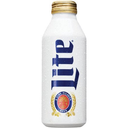 Miller Lite Beer, 16 fl oz Aluminum Bottle