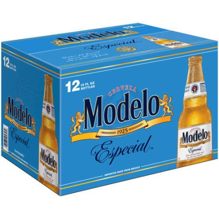 Modelo Especial Beer, 12 pack, 12 fl oz Bottle
