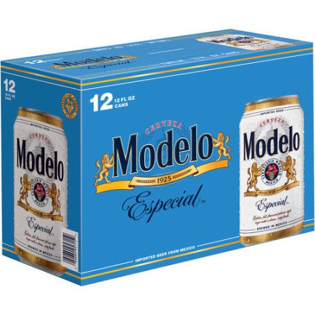Modelo Especial Beer, 12 pack, 12 fl oz Can