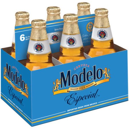 Modelo Especial Beer, 6 pack, 12 fl oz Bottle