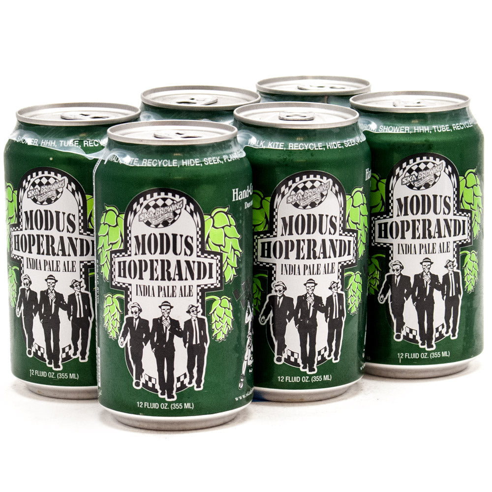 SKA Brewing Co, Modus Hoperandi IPA, 6 Pack Cans.