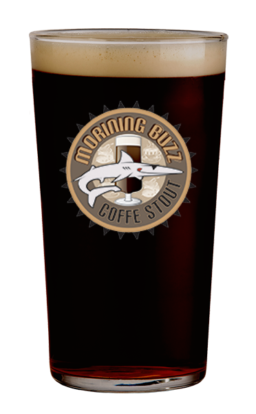 Morning Buzz Coffee Stout MudShark, 6 Pack, 12oz Bottle