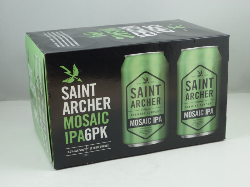 Saint Archer Brewing Co, Mosaic IPA, 6 Cans briansdiscountmarket