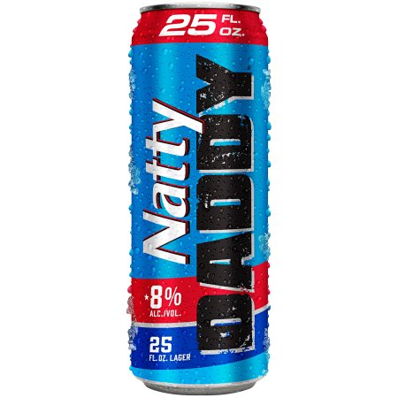 Natty Daddy Beer, 25 fl oz Can