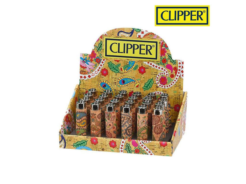 Natural Cork Clipper Lighters
