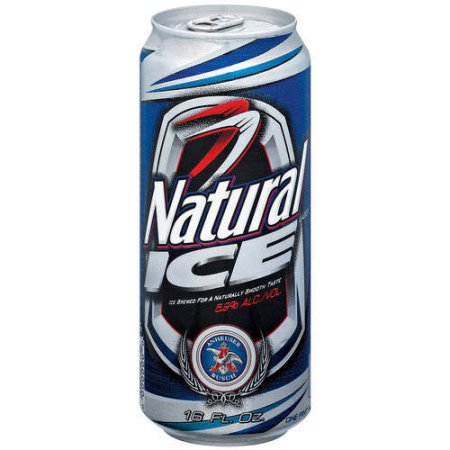 Natural Ice Beer, 16 fl oz Can