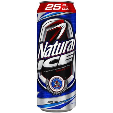 Natural Ice Beer, 25 fl oz Can