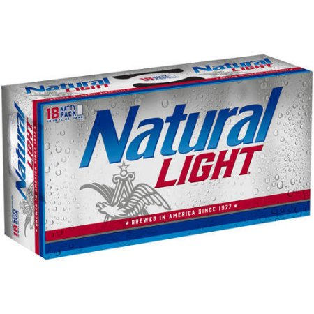 Natural Light Beer, 18 pack, 12 fl oz Can