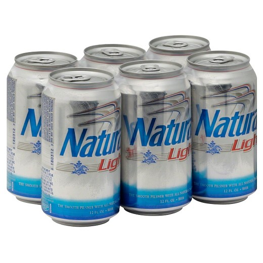 Natural Light® Beer , 6 Pack, 12 oz Can