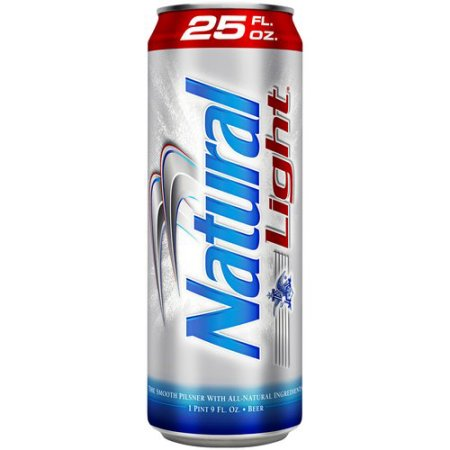 Natural Light Beer, 25 fl oz Can