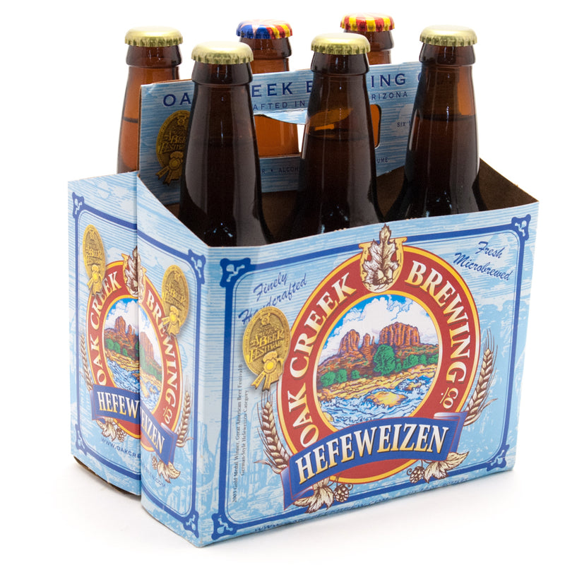 Oak Creek Hefeweizen, 6 Pack, 12oz Bottle