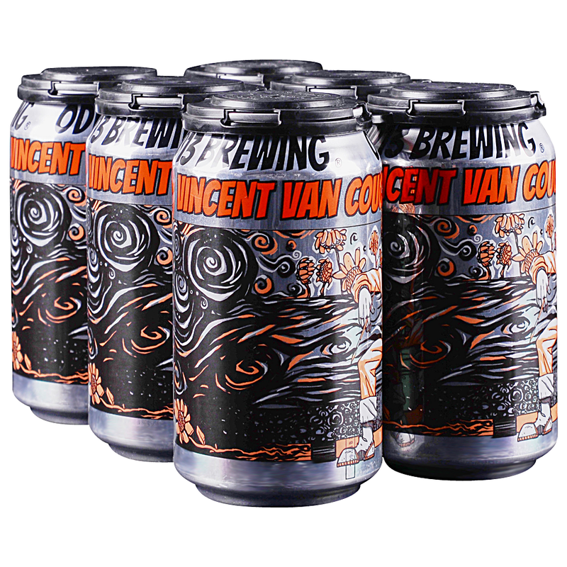 Odd 13 Brewing, Vincent van Couc, 6 Pack Can Brian's discount market